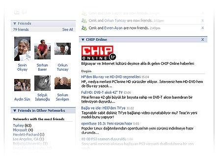 Facebook'ta En Popüler Uygulamalar