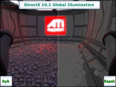 Amd'den, Nvidia'ya GI Farkı!