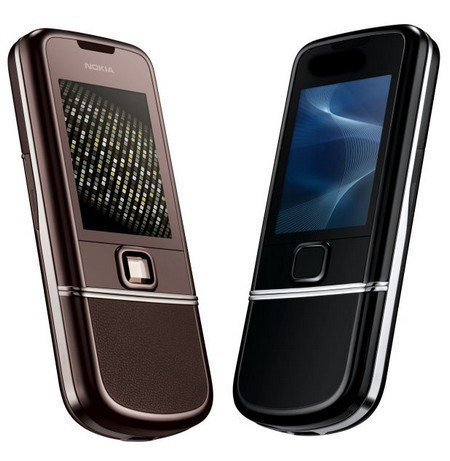 Nokia 8800 Arte ve Sapphire Arte: Özel cepler