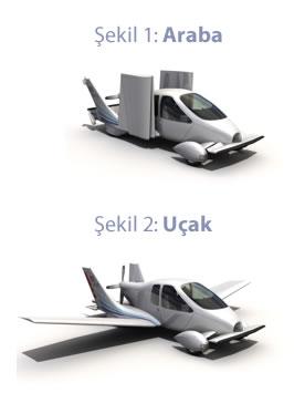 Uçan araba Transitio 2009'da satışa sunulacak
