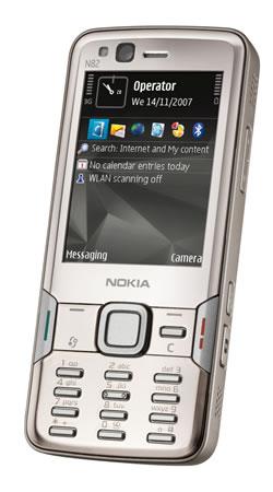 Nokia N82 satışa sunuldu