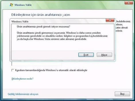 20080307033930 - Windows XP'den Windows Vista'ya Y�kseltme