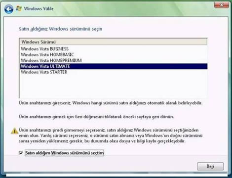 20080307034219 - Windows XP'den Windows Vista'ya Y�kseltme