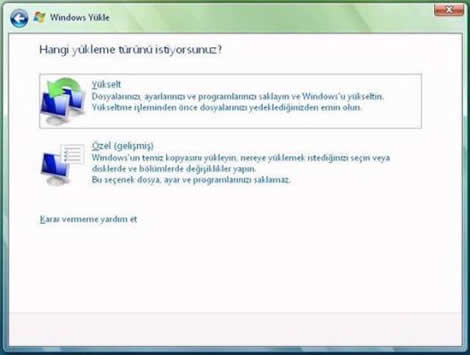 20080307034435 - Windows XP'den Windows Vista'ya Y�kseltme
