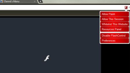 Flash videoları engelleyen Chrome eklentisi!