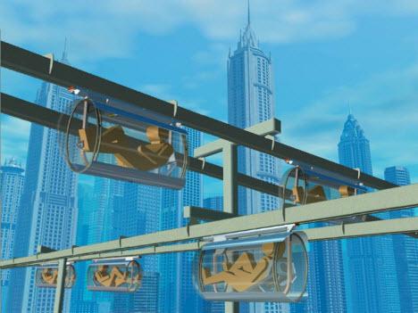 İnsan taşıyıcılar, buluttan çalışan robotlar!