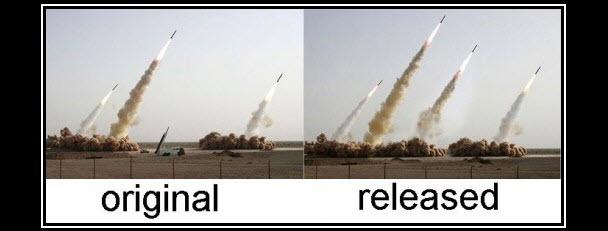 Japon uçağı (solda) ve İran'ın uçağı (sağda)