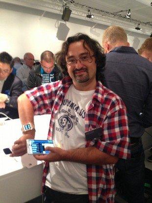 Gerçek Samsung Galaxy Note 3 hazır