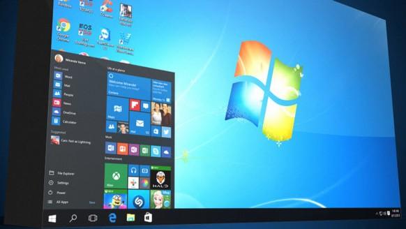 Windows 10'u 7 ve 8'e getirin