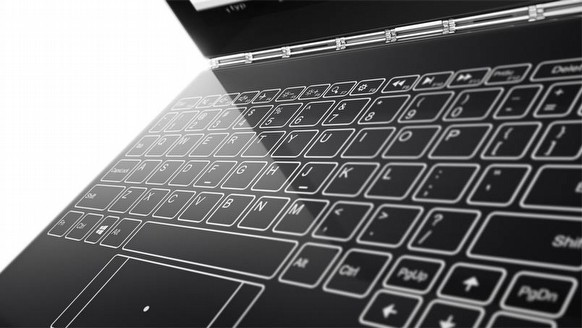 IFA'da dev sürpriz: Klavyesiz laptop!