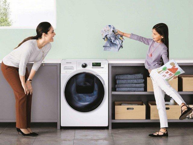 Hayat kolaylaştıran çamaşır makinesi
