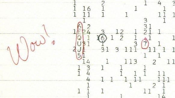 40 yıllık sır: Uzaydan gelen Wow sinyali