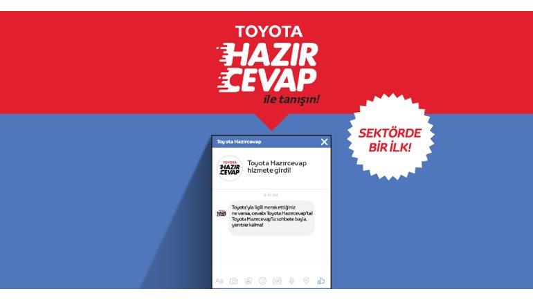 Toyota yine bir ilke imza attı