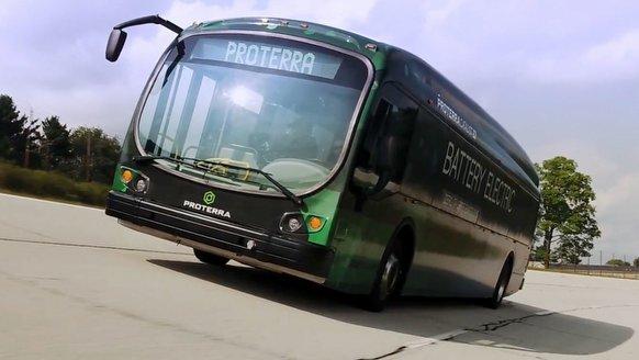 Proterra elektrikli otobüs menzil rekoru kırdı!