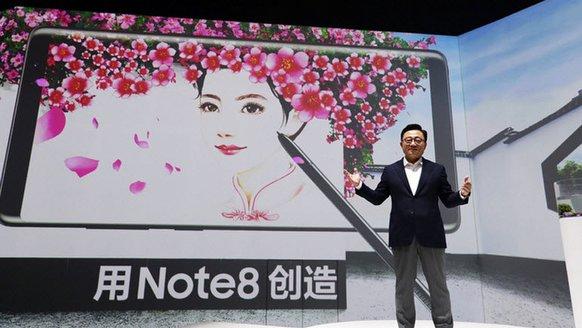 Çin, Galaxy Note 8'i hiç sevmedi!