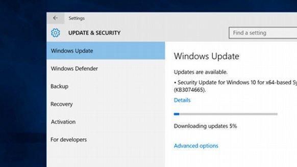 Windows 10'a toplu güncelleme!