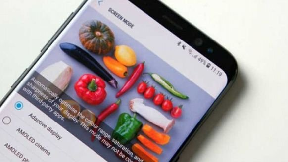 """Galaxy S8'in """"kırmızı"""" hatasına çözüm!"""