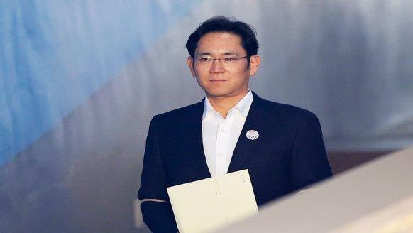 Samsung başkanına yeni şok
