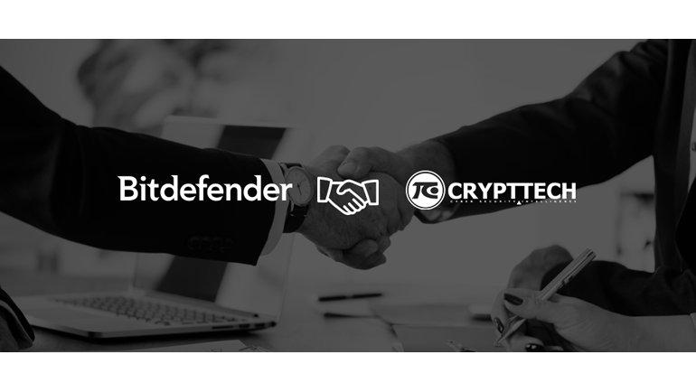 Bitdefender ve Crypttech el sıkıştı