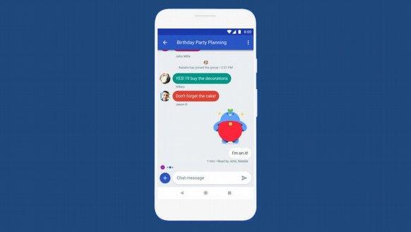 Google'ın SMS'i modernleştiriyor!