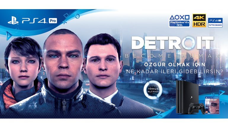 Detroit: Become Human geldi!