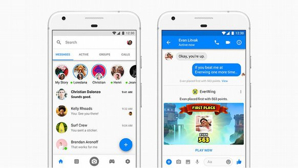 Facebook Messenger'a şok!