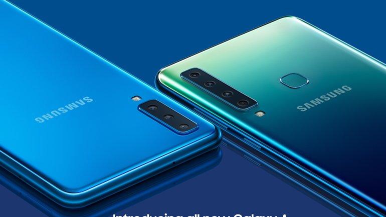 Samsung Galaxy A9 ön siparişte