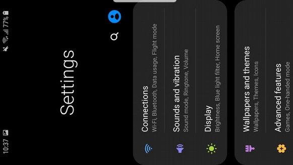 İşte One UI ve Galaxy S9!