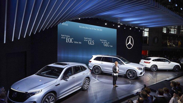 Mercedes-Benz'den 5 dünya lansmanı