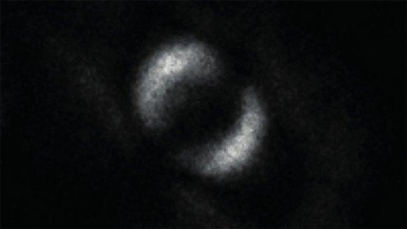 Kuantum olayı, kameraya yakalandı