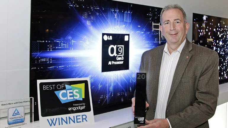 LG Electronics CES'te rekor kırdı