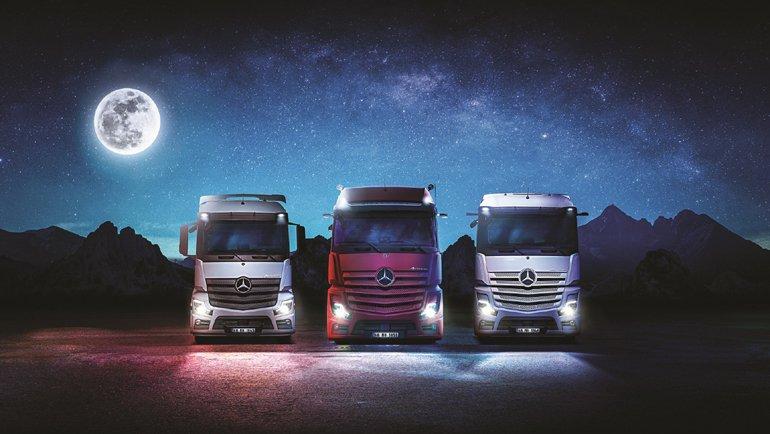 Mercedes-Benz Actros Türkiye'de
