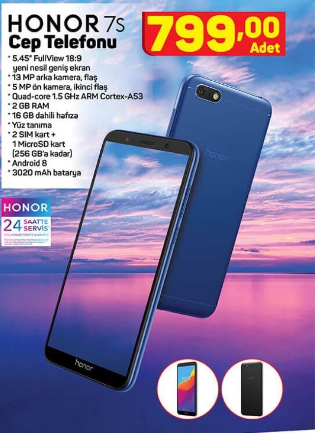 14 Mayıs A101 aktüel kataloğunda Xiaomi Mi ve Honor cep ...