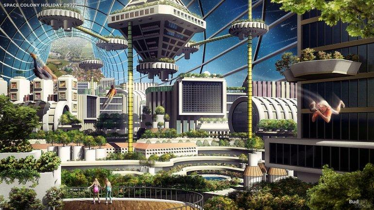 uzay kolonisi