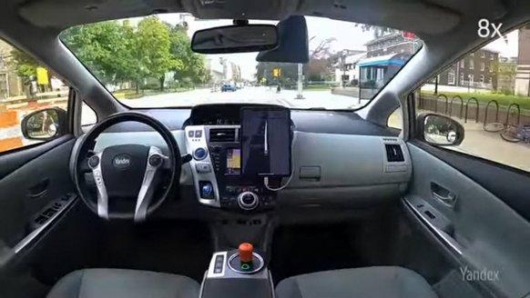 Yandex, otonom araç testine başladı