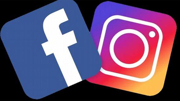 """Facebook ve Instagram """"bağlandı"""""""
