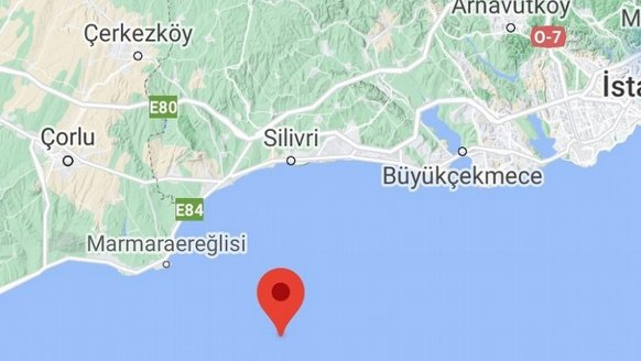 Marmara Denizi'nde deprem... İstanbul'da da hissedildi