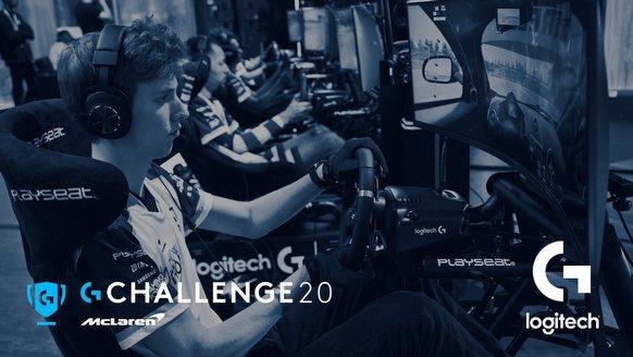 Türkiye, Logitech McLaren G Challenge 2020'de Yer Alıyor