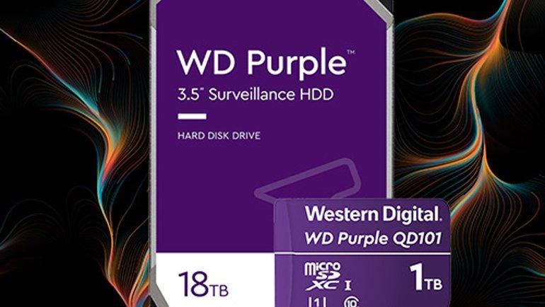 Yeni WD Purple diskleri tanıtıldı