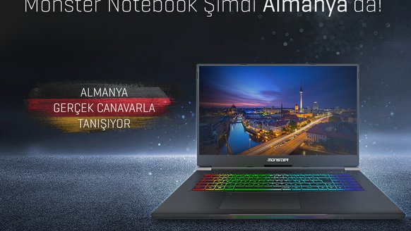 Monster Notebook, Avrupa'da!