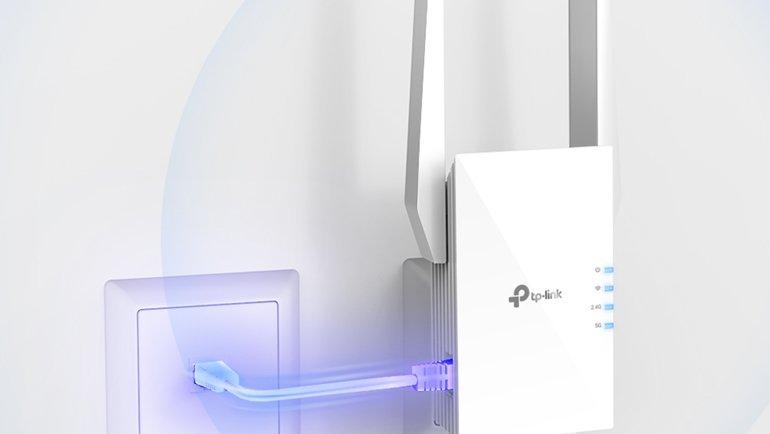 İşte Wi-Fi 6 Destekli İlk Menzil Genişletici!