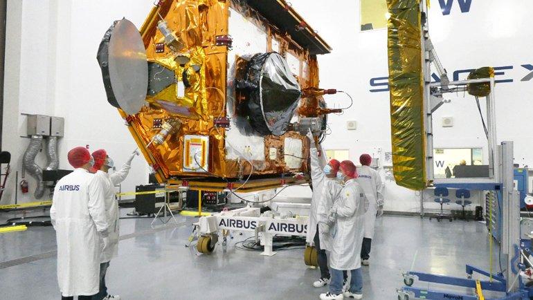 Sentinel-6 uydusu uzaya fırlatıldı