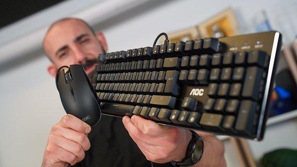AOC GM500 & GK500 inceleme