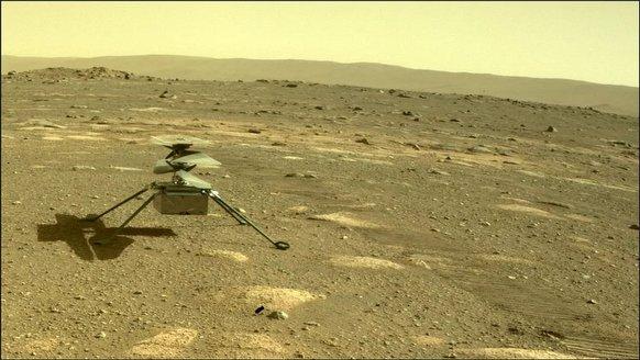 İnsanlar, Mars'ta uçabilecek mi?