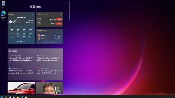Widget'lar, Windows 11'le dönüyor