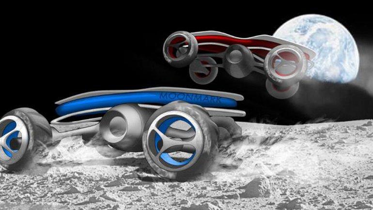 Ay'da araba yarışı!