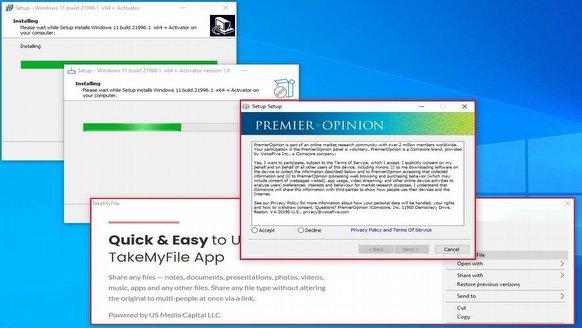 Sahte Windows 11'ler çıktı bile...