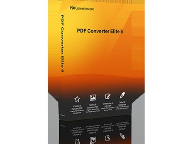 PDF Converter Elite 5