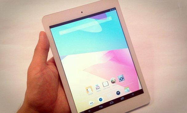 """""""Mini"""" tablet arayanlara uygun seçenek."""