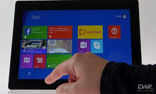 Microsoft Surface 2 testte!